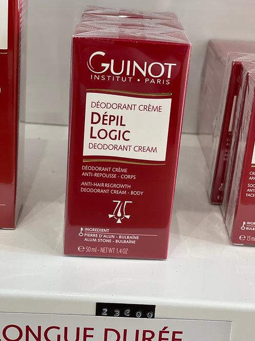 Déodorant crème DEPIL LOGIC