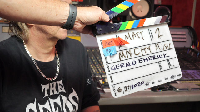 Mix City Music / Matt Pakucko-behind-the-scenes. Airs 1/23, 3pm, KCBS Channel 2 Los Angeles