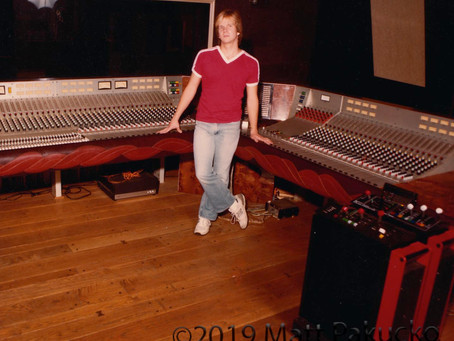 My first recording studio gig! (well after Steve Perry worked there)