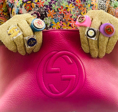 Repurposed Gucci & Chanel Rings