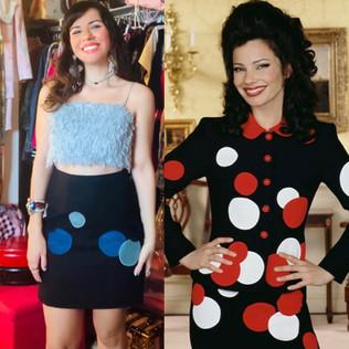 Vintage Moschino Bubble Dot Skirt