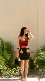 Vintage Moschino Mickey Skirt, Moschino
