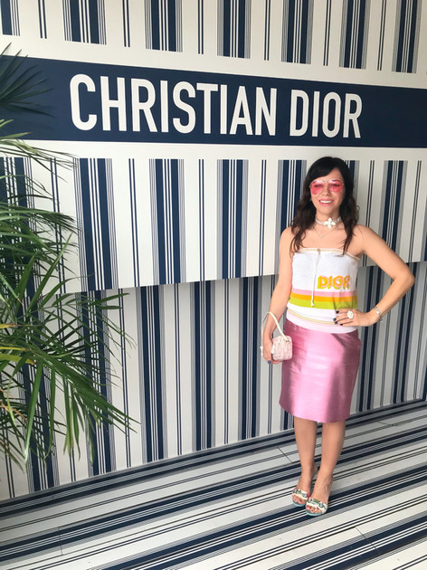 The Look I styled for Dior Cafe