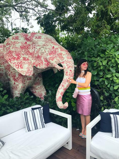 Katerina Elephant Dior
