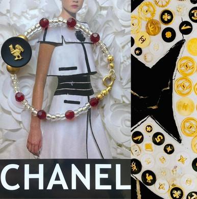 Chanel Rooster Bracelet