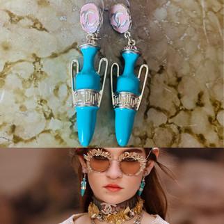 Chanel Cruise Greek Earrings
