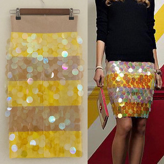 Juicy Couture SS 12 Sequin Skirt