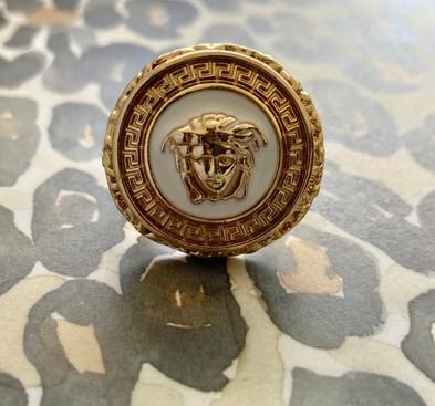 Repurposed Versace Ring