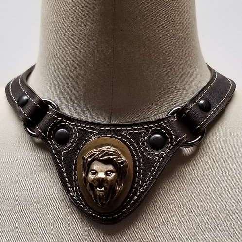 G. Destin Collection Leather Choker