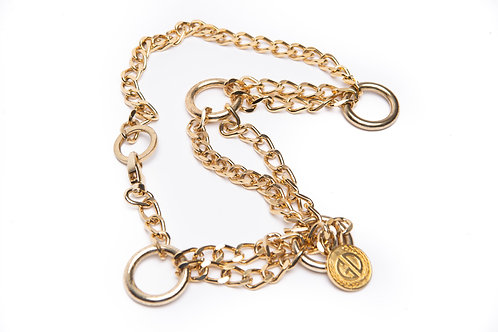 Gold Plated chain belt