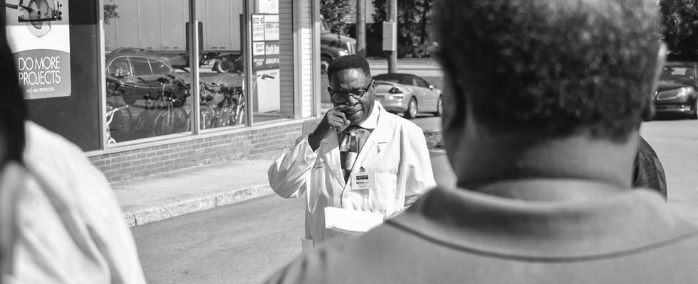 Pharmacist Wole Adeoye Speaking