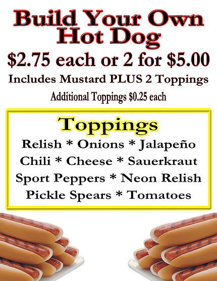 Hot Dogs San Diego CrunchTime
