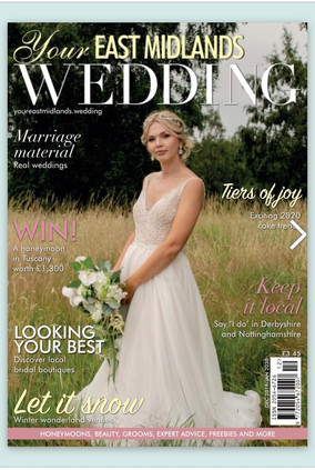 Your East Midlands Wedding Front Cover Dec 2019
