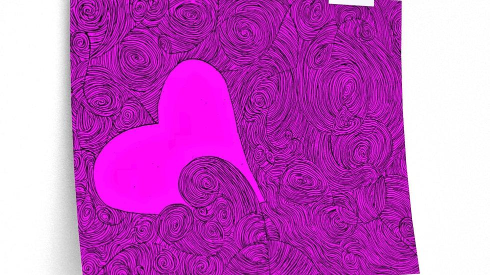 hearts poster - Premium Matte horizontal posters