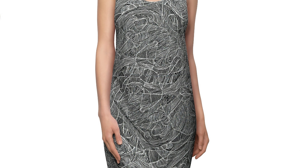 linedoodle - Women's Cut & Sew Racerback Dress