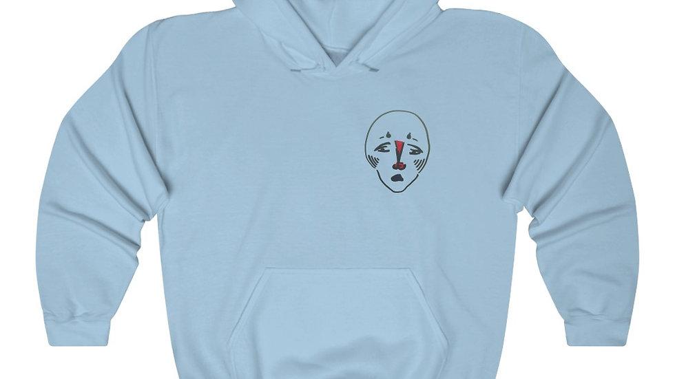 front/back dun hun - Unisex Heavy Blend™ Hooded Sweatshirt