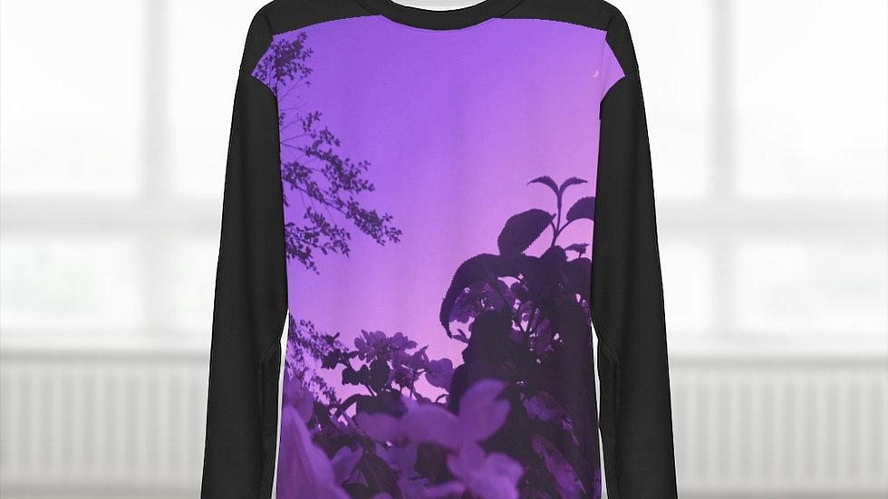 purple spring - AOP Unisex Sweatshirt