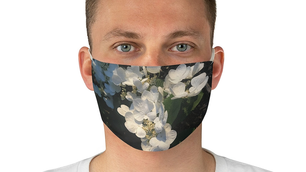 flowers - Fabric Face Mask