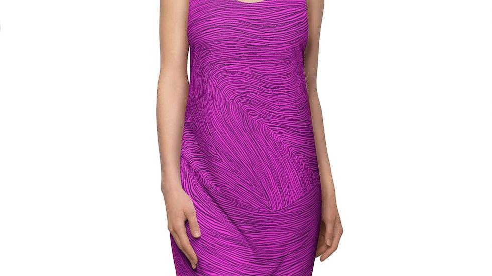 pink doodle dress - Women's Cut & Sew Racerback Dress