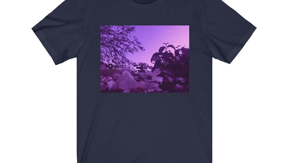 purple spring - Unisex Jersey Short Sleeve Tee