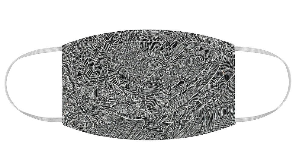 linedoodle - Fabric Face Mask