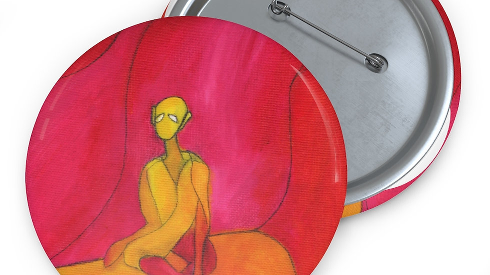 meditator - Custom Pin Buttons