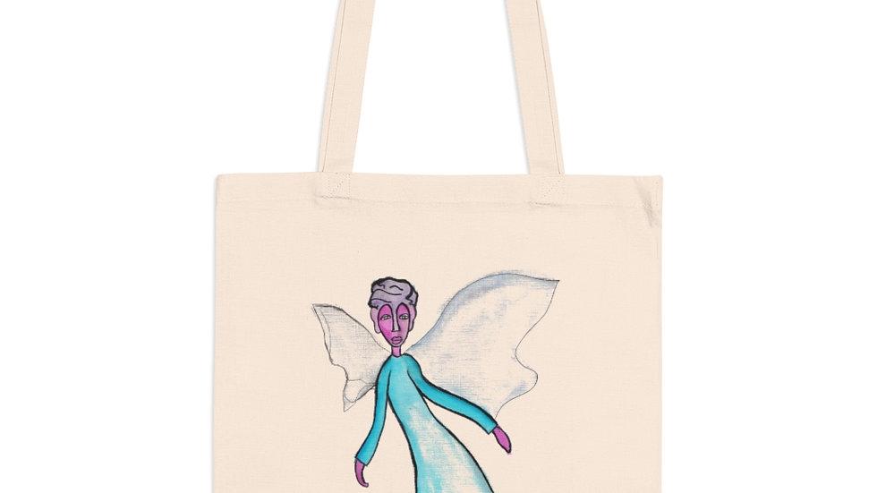 angel in the corner of my eye - Tote Bag
