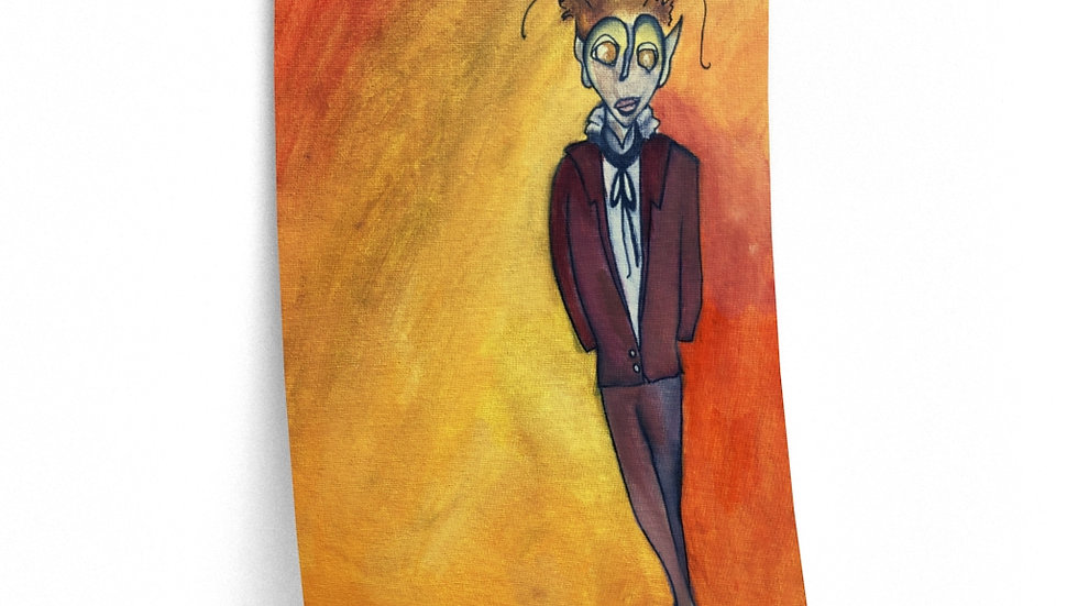 Etienne character portrait poster (Flutter)