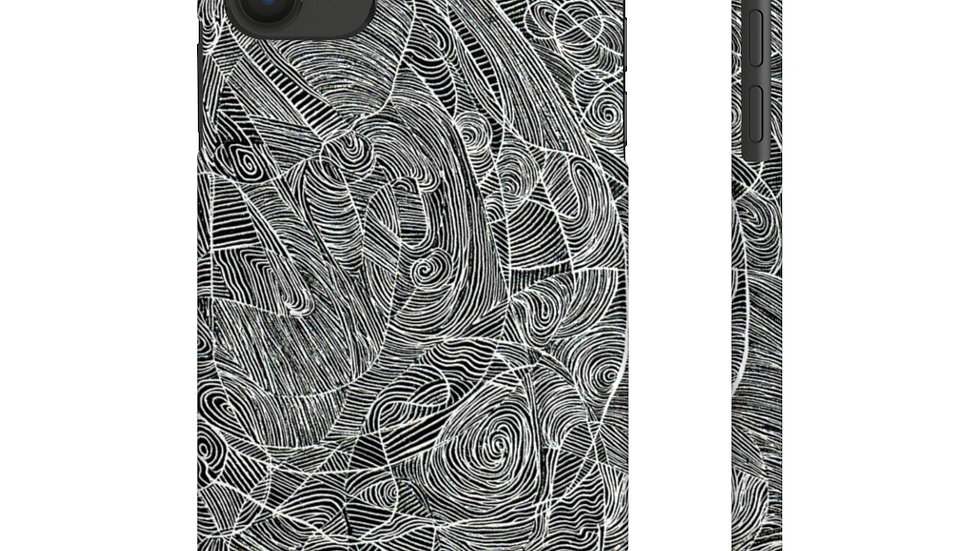 line doodle case - Case Mate Slim Phone Cases