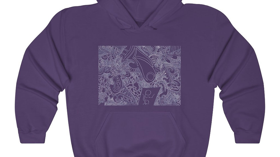 under pressure - Unisex Heavy Blend™ Hooded Sweatshirt