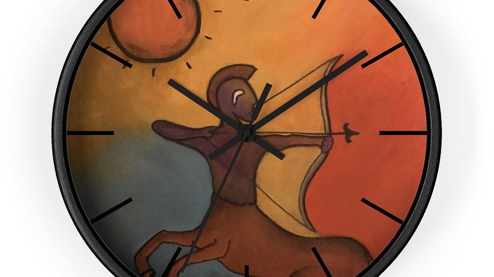 sagittarius - Wall clock