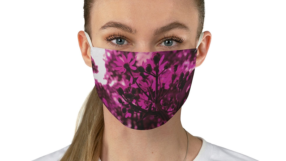 pink spring - Fabric Face Mask