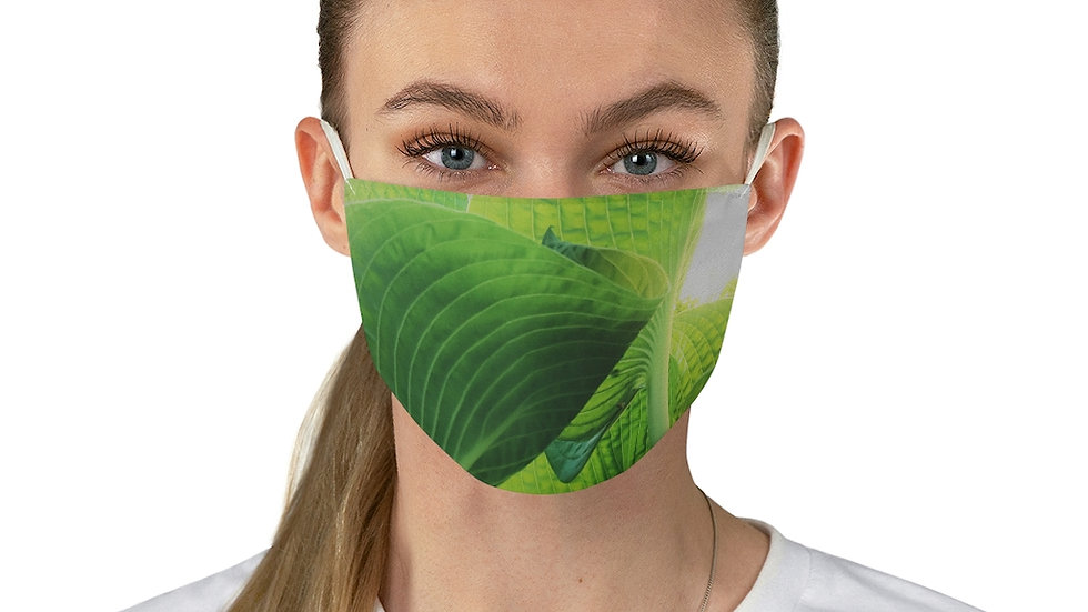 leaves - Fabric Face Mask