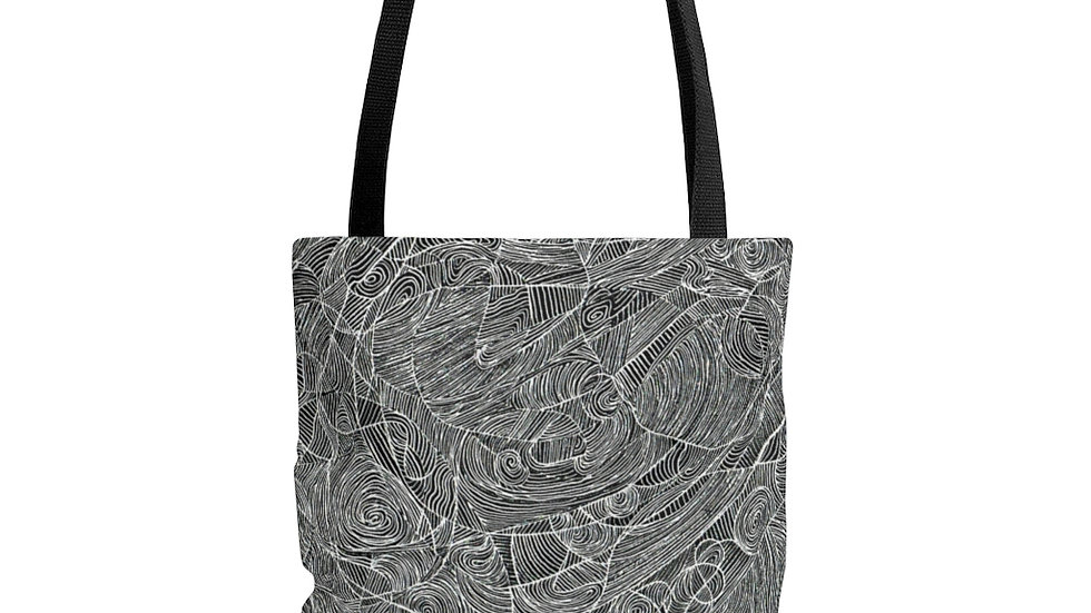 linedoodle - AOP Tote Bag