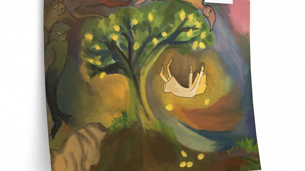 The Lemon Tree painting poster (from Flutter)