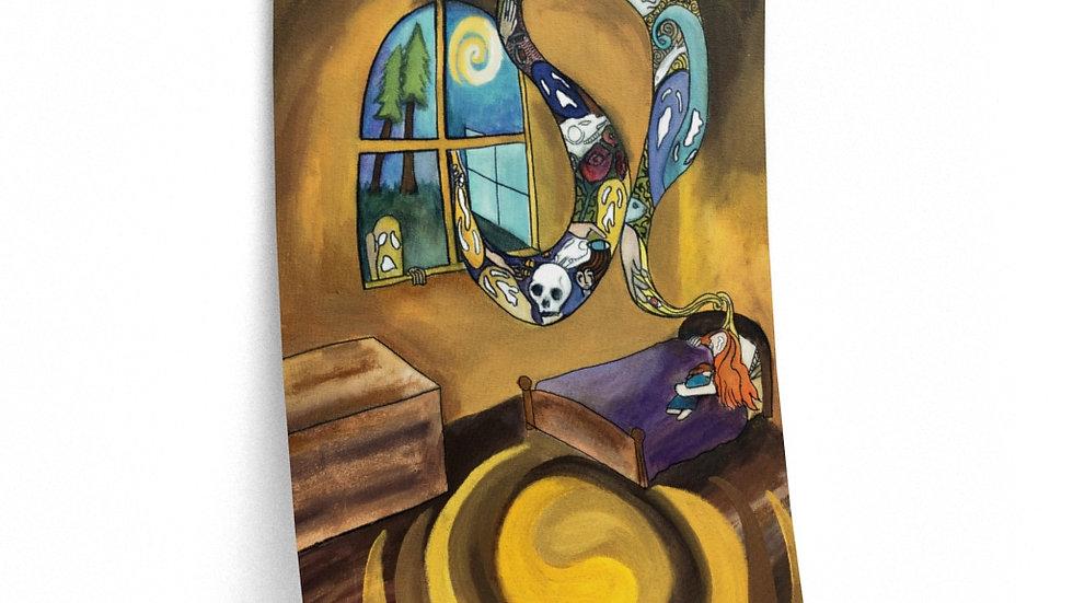 Sylvia Dandridge's Fever Dream painting - Posters (from Flutter)