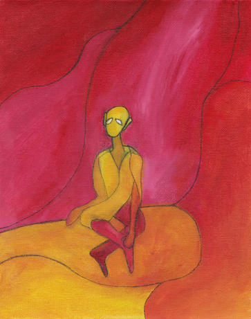 the meditator (2019)