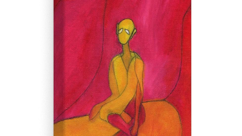 the meditator - Canvas Gallery Wraps