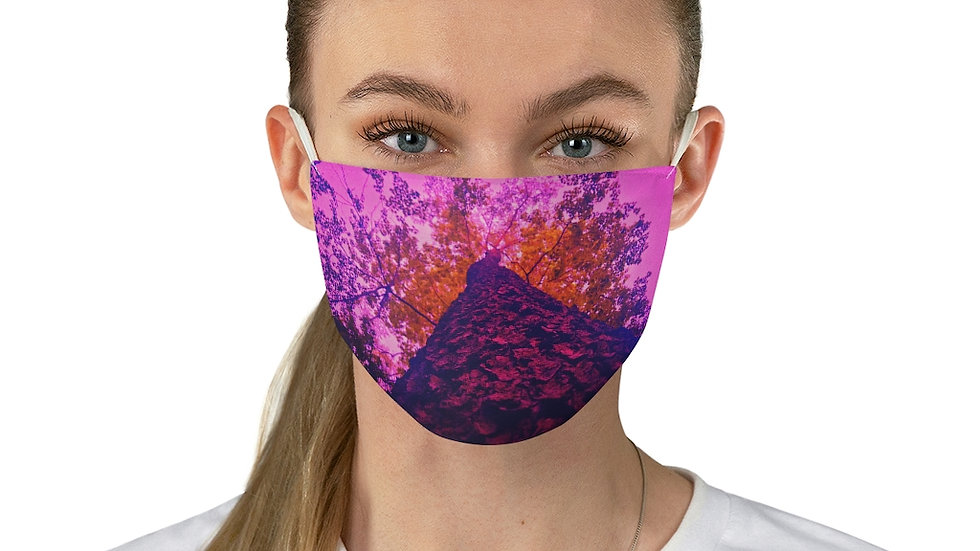 all the way up - Fabric Face Mask