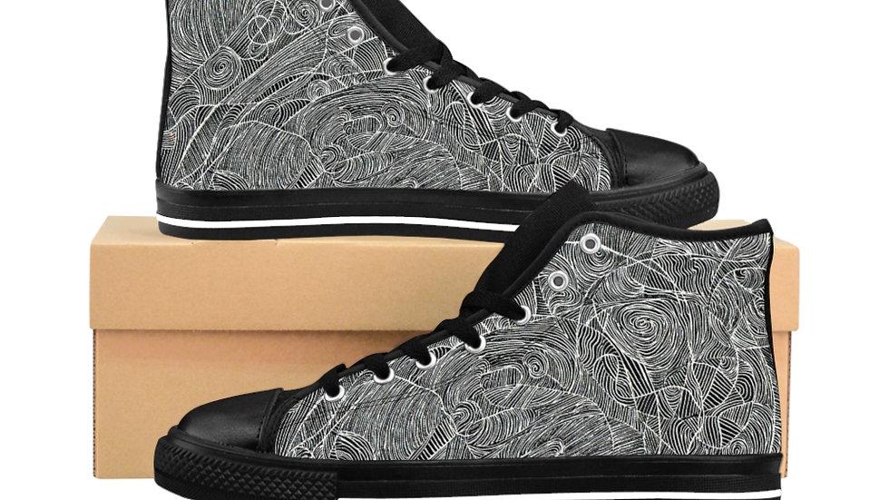 vectors - Men's High-top Sneakers