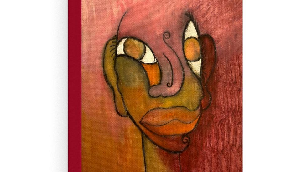 portrait red/orange (January 2020) - Canvas Gallery Wraps