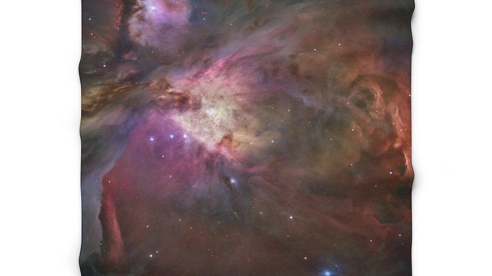 Orion Nebula (public domain) - Sherpa Fleece Blanket