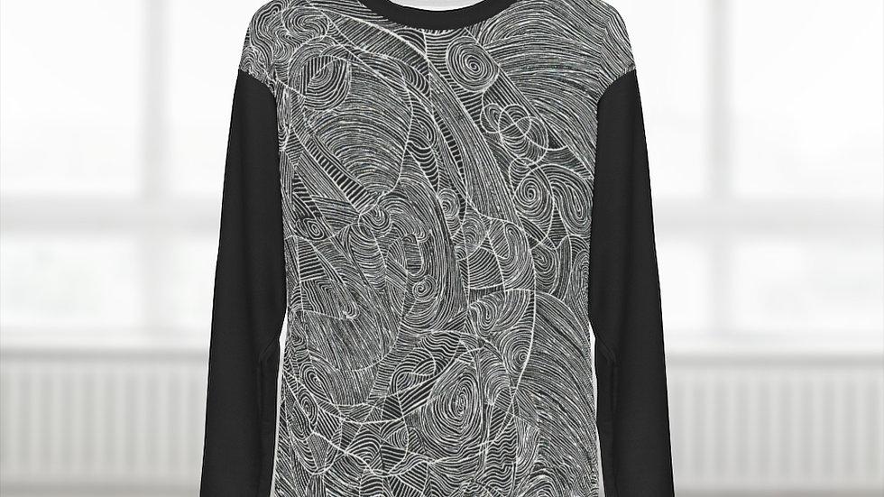 line doodle - AOP Unisex Sweatshirt