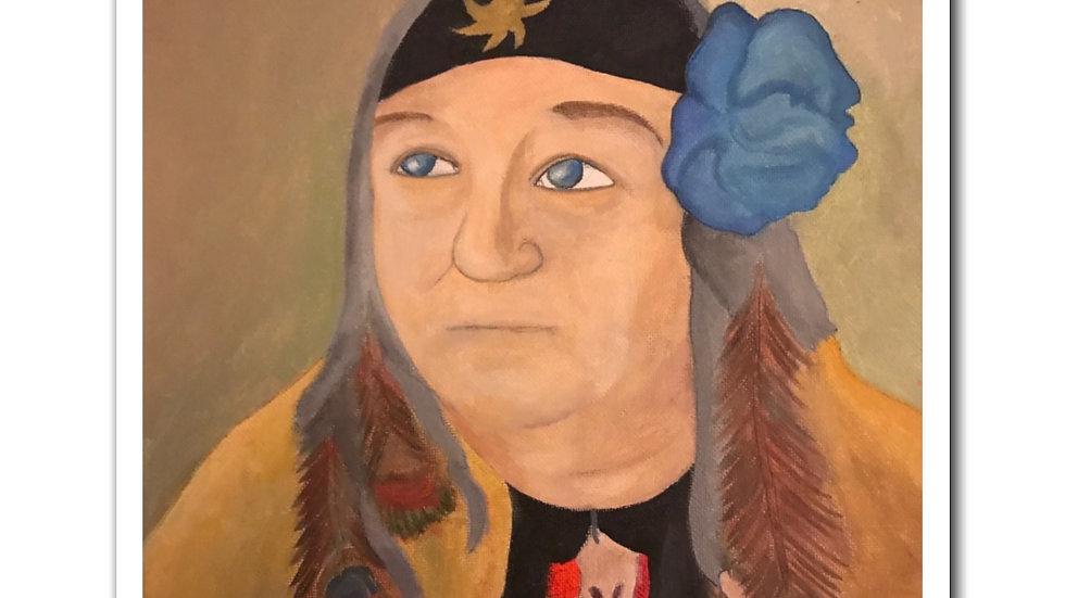 CA Conrad portrait (2019) - Magnets
