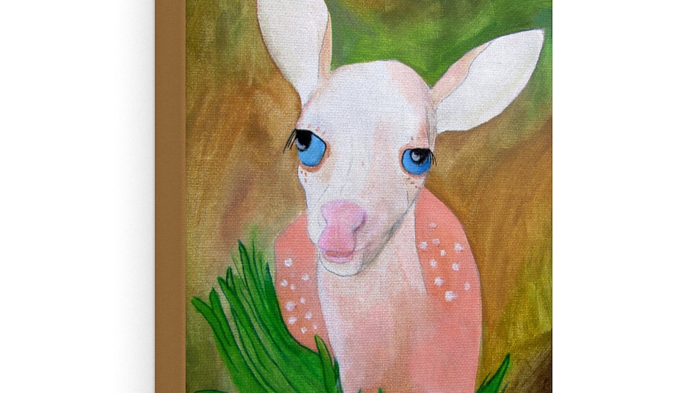 Fawn painting - Canvas Gallery Wraps (from Flutter)