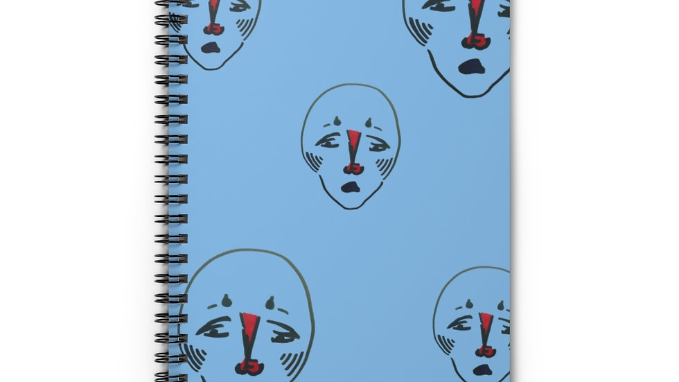 Spiral Notebook - Ruled Line