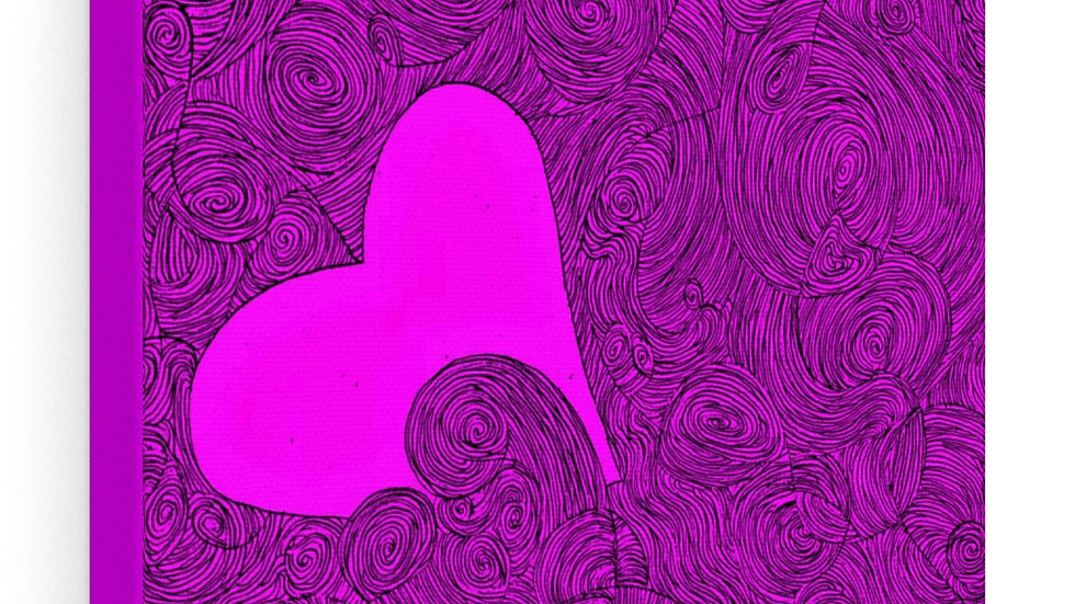 heart - Canvas Gallery Wraps