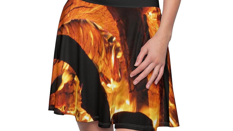 fire skirt - Women's Skater Skirt