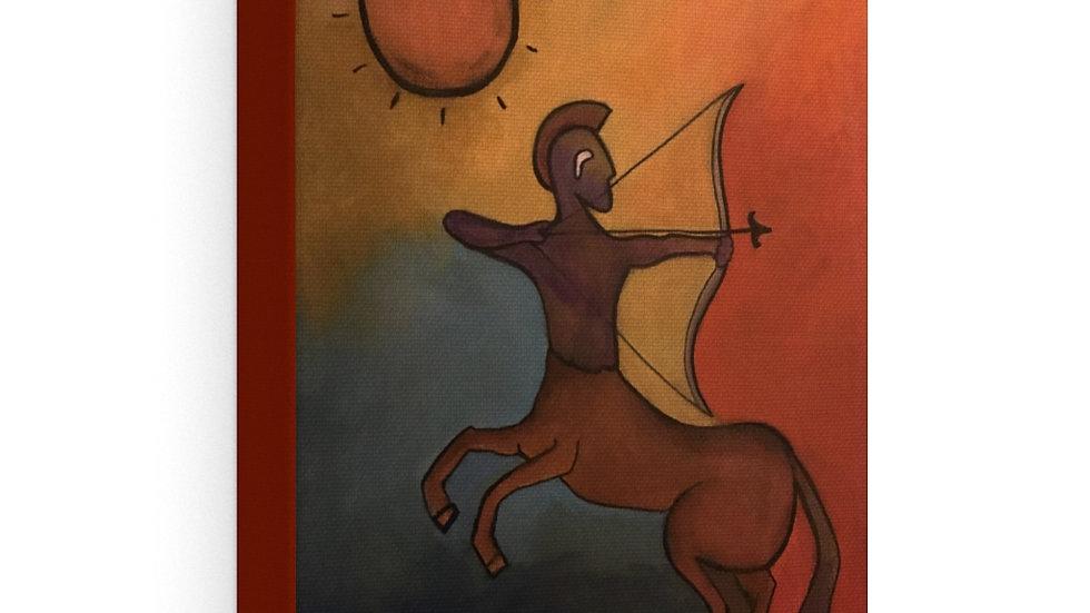 sagittarius - Stretched canvas