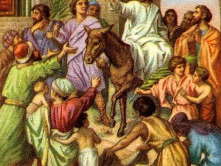 Palm Sunday Sermon